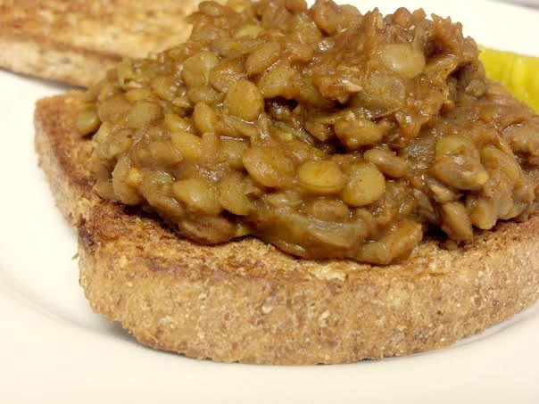 Barbecue Lentil Sandwich - Clean Eating Veggie Girl