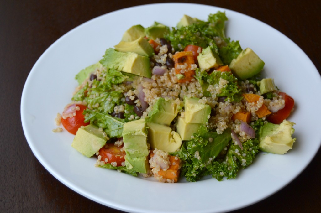 blood orange quinoa salad