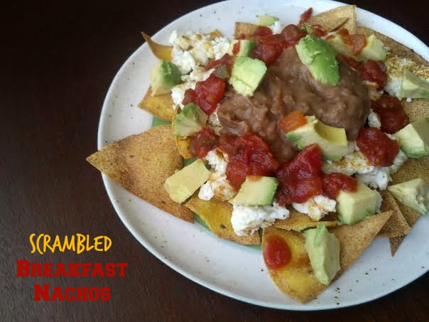 breakfast egg nachos 4y