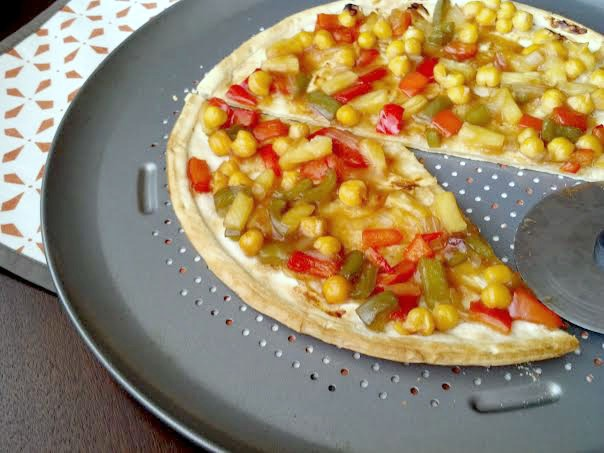 sweet sour pizza