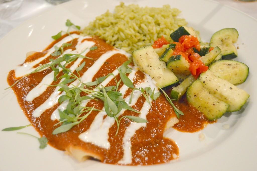 Cantina Laredo enchiladas