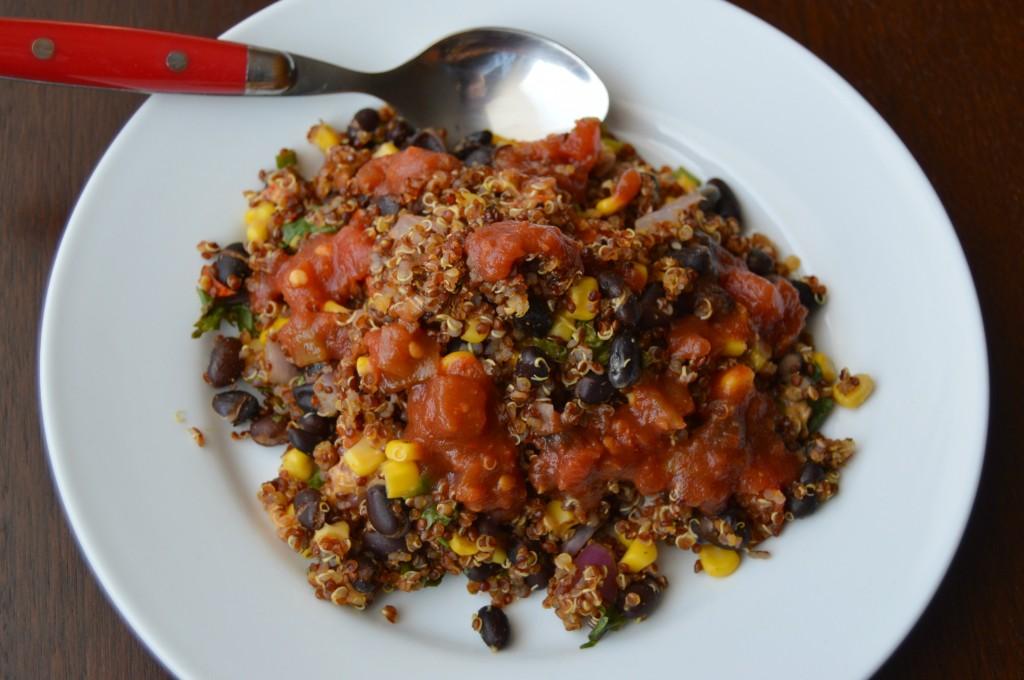 Mexican quinoa bake 2