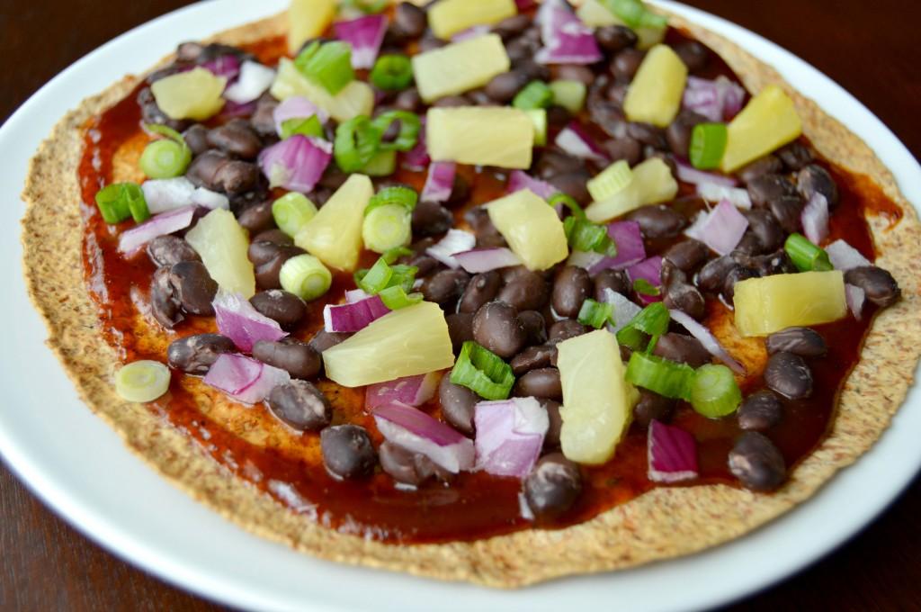 bbq pineapple pizza 3