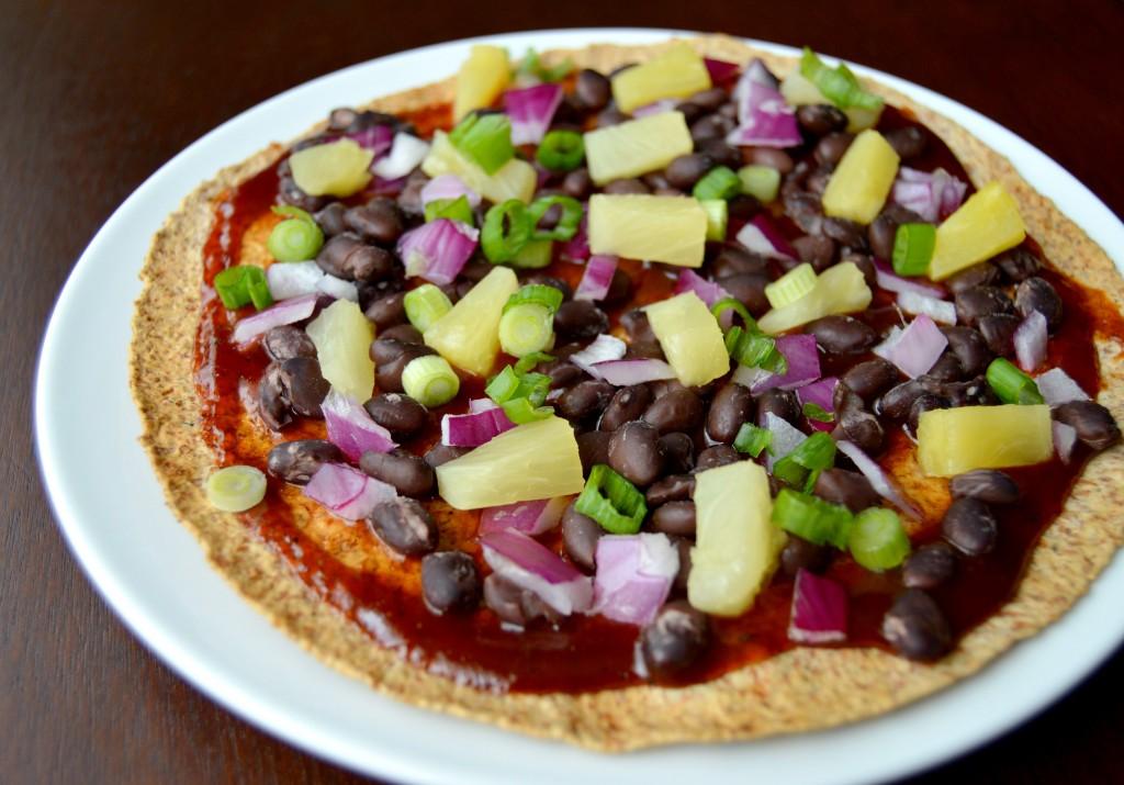 bbq pineapple pizza 6