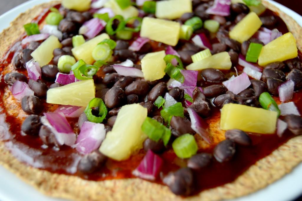 bbq pineapple pizza 7