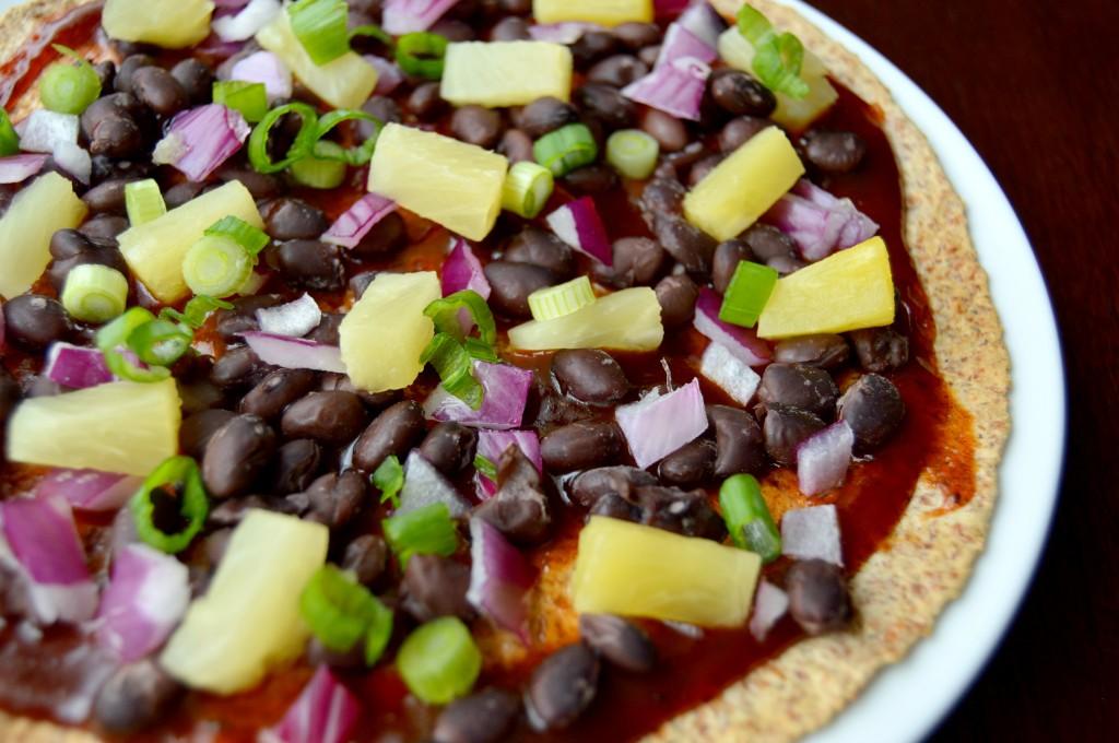 bbq pineapple pizza 8