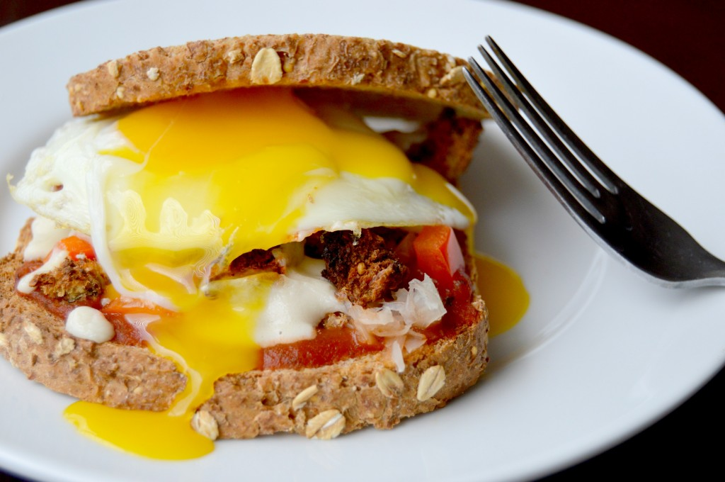 breakfast pizza sandwich 12