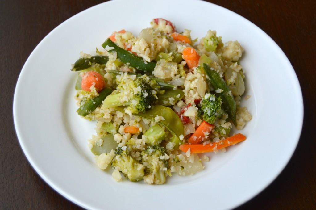 pad thai cauliflower rice