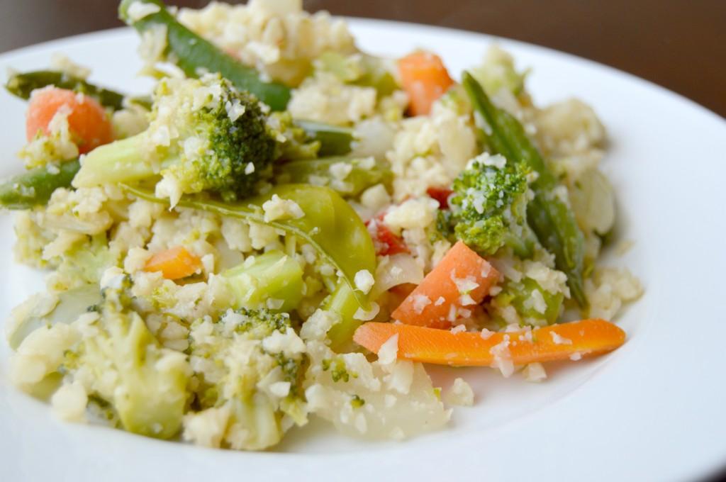 pad thai cauliflower rice 3