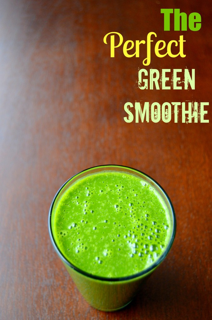 perfect green smoothie 10