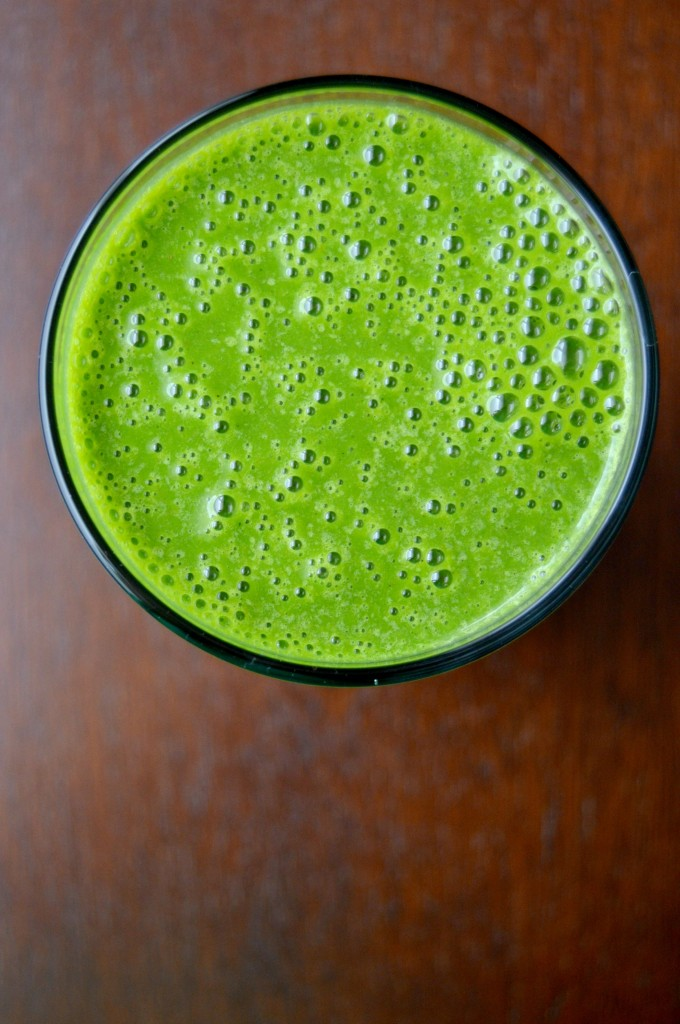 perfect green smoothie 7