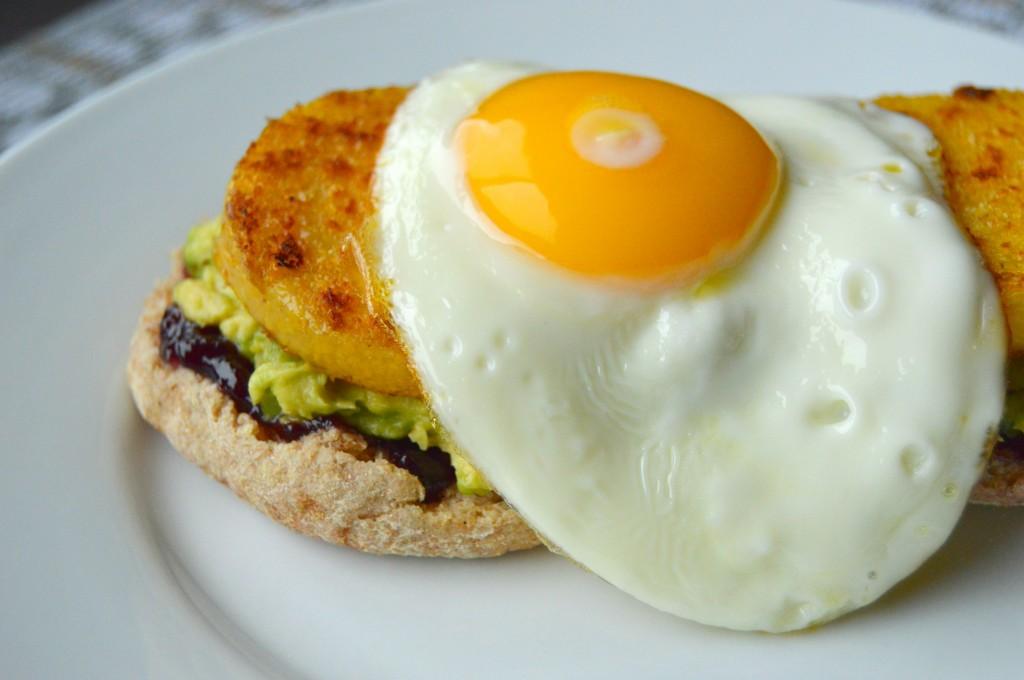 polenta egg