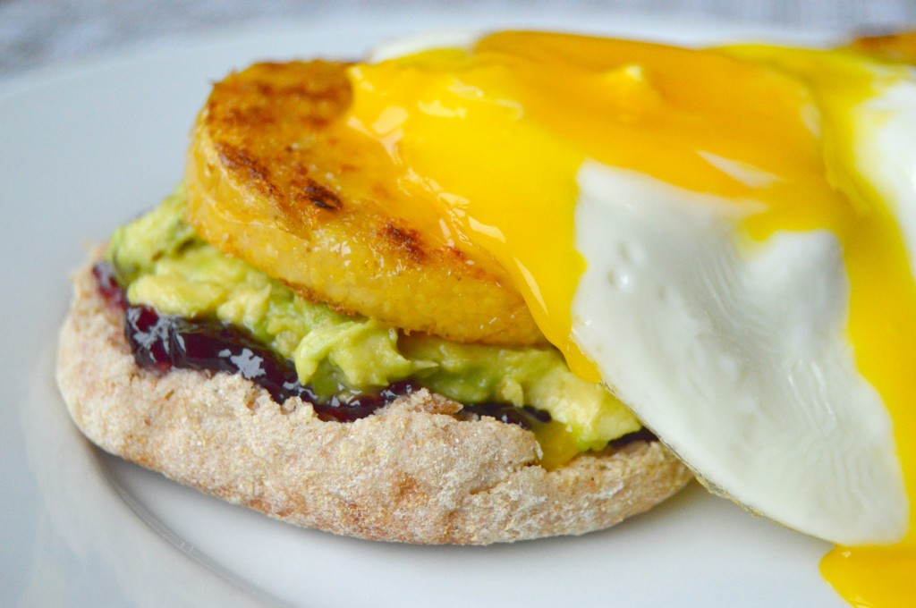 Sweet and Savory Breakfast Polenta and Egg Stack – Clean Eating ...