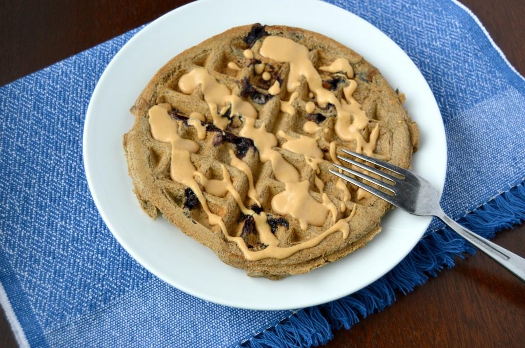 blueberry coconut waffle 7