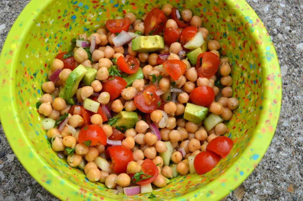 fff chickpea summer salad