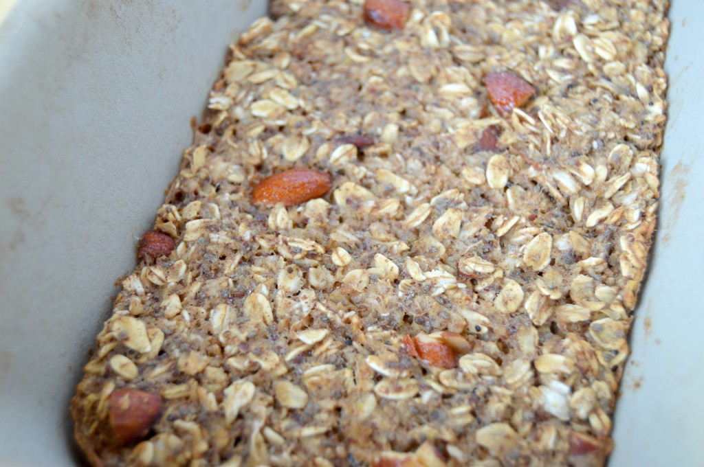 honey vanilla oatmeal bake 2
