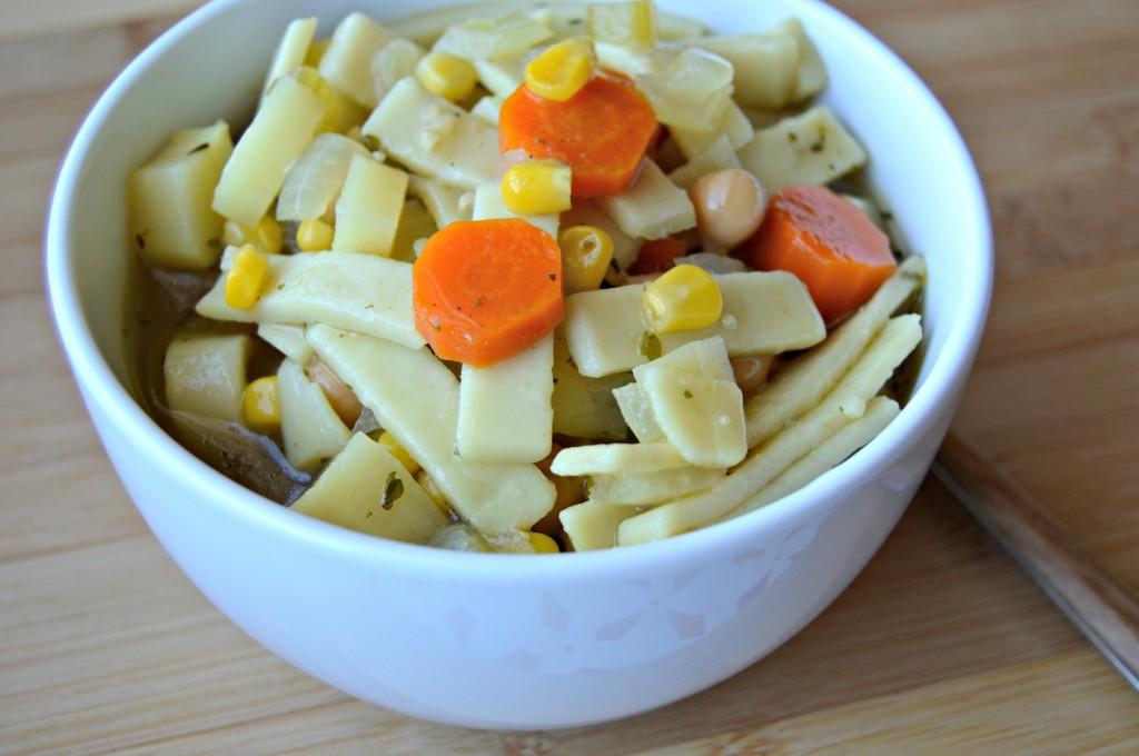 chickpea noodle soup 4