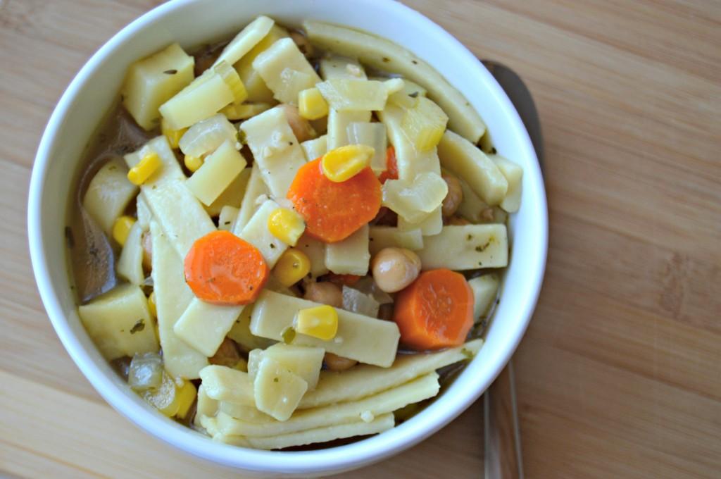 chickpea noodle soup 5