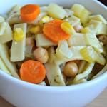 chickpea noodle soup 6