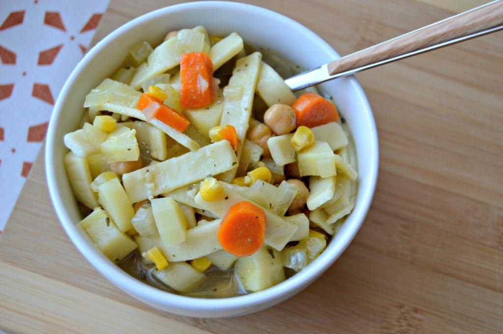 chickpea noodle soup 7