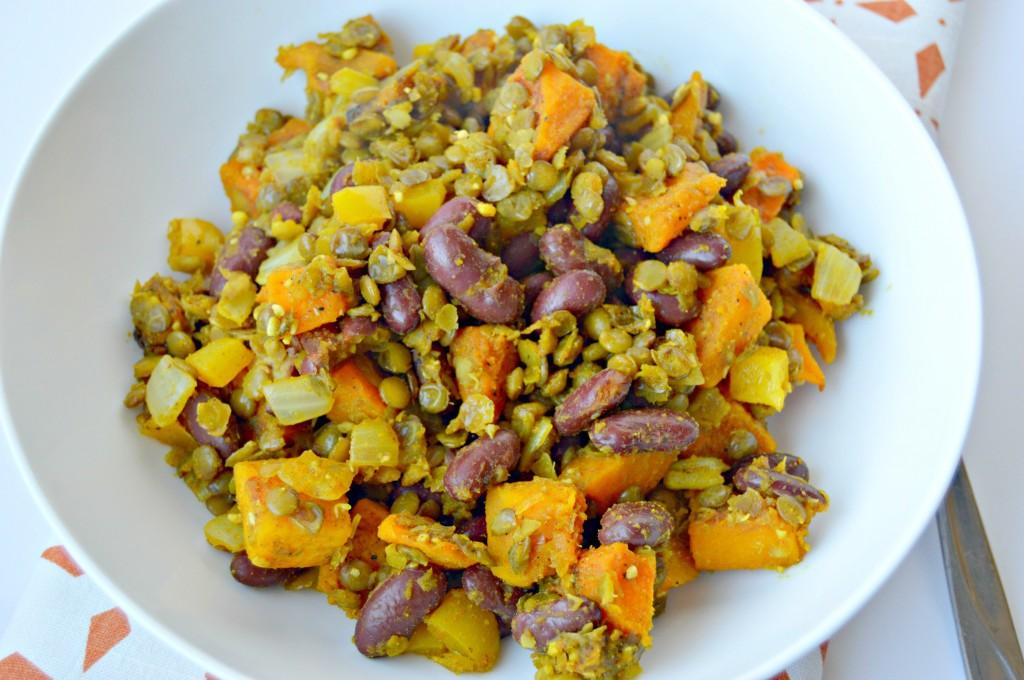 butternut lentil hash2
