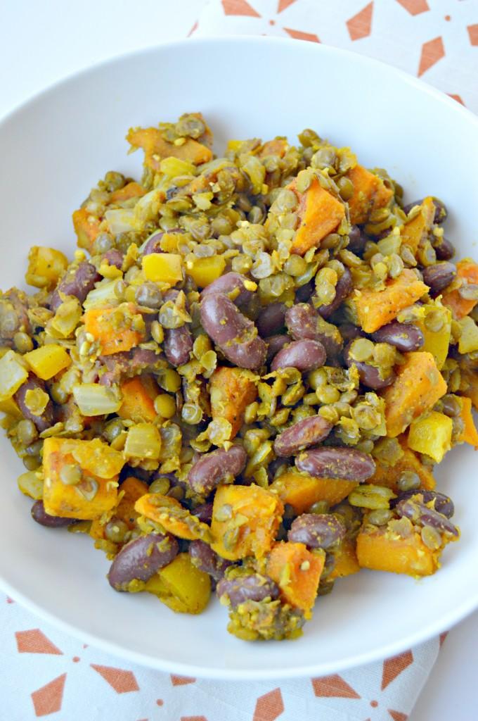 butternut lentil hash4