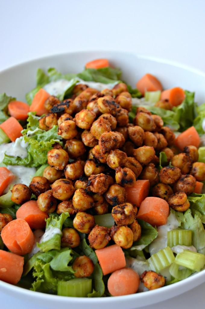 buffalo chickpea salad 5