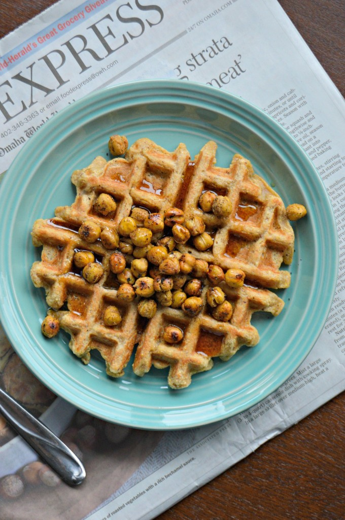 chickpea waffles 2