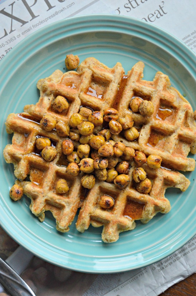 chickpea waffles 3