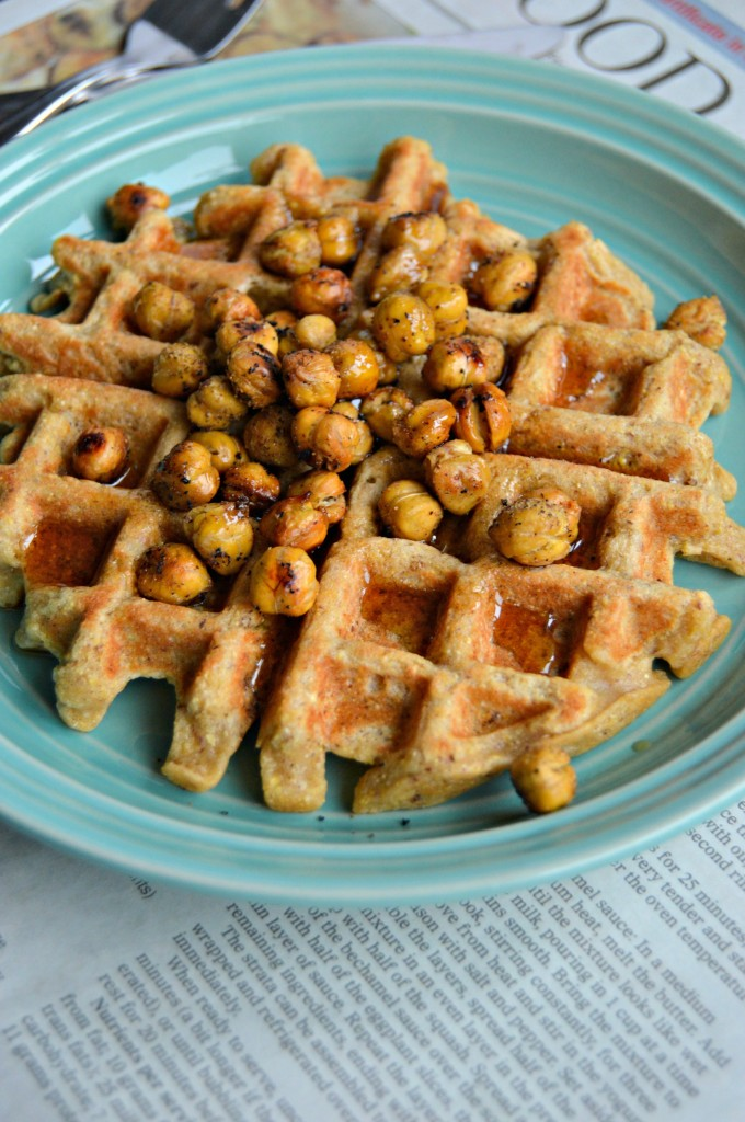 chickpea waffles 4