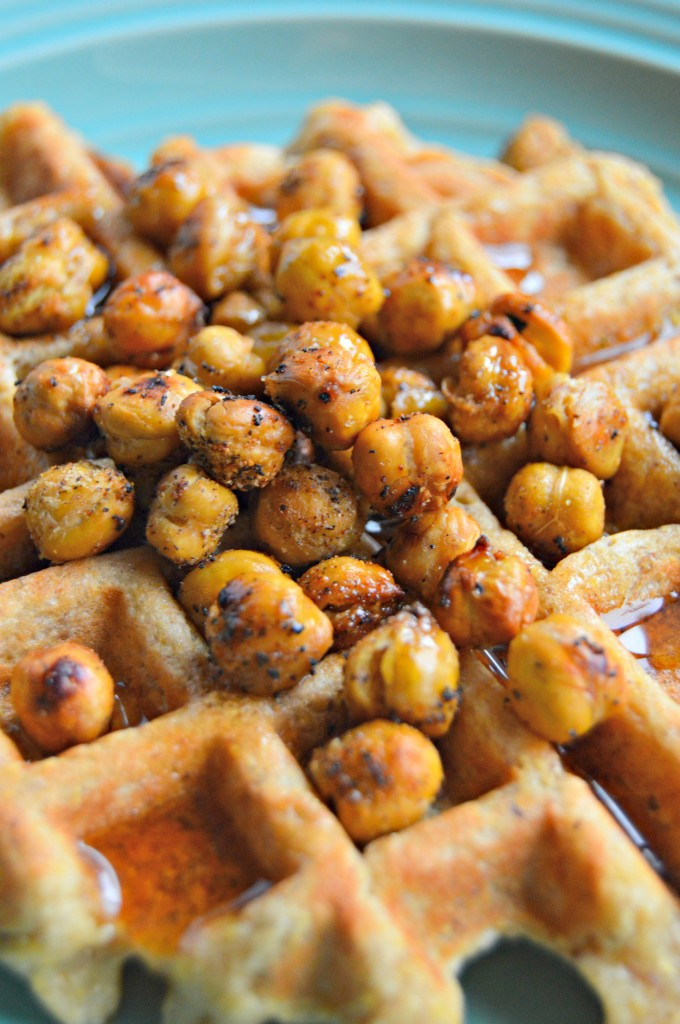 chickpea waffles 5