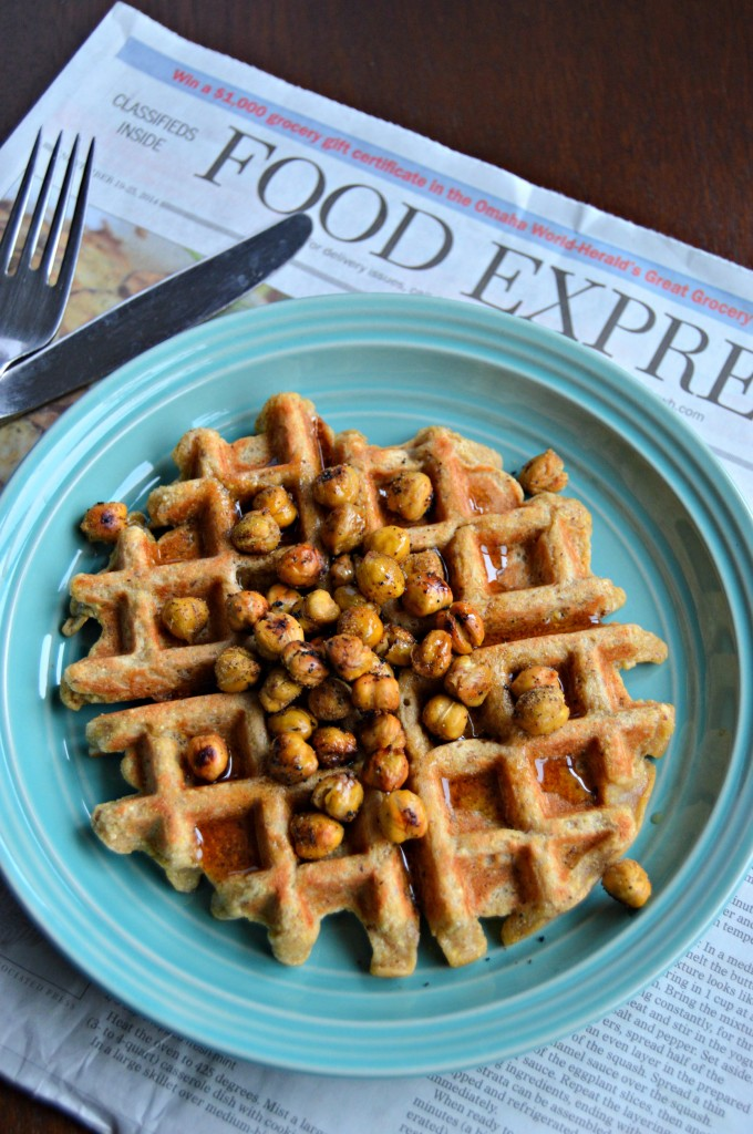 chickpea waffles 7