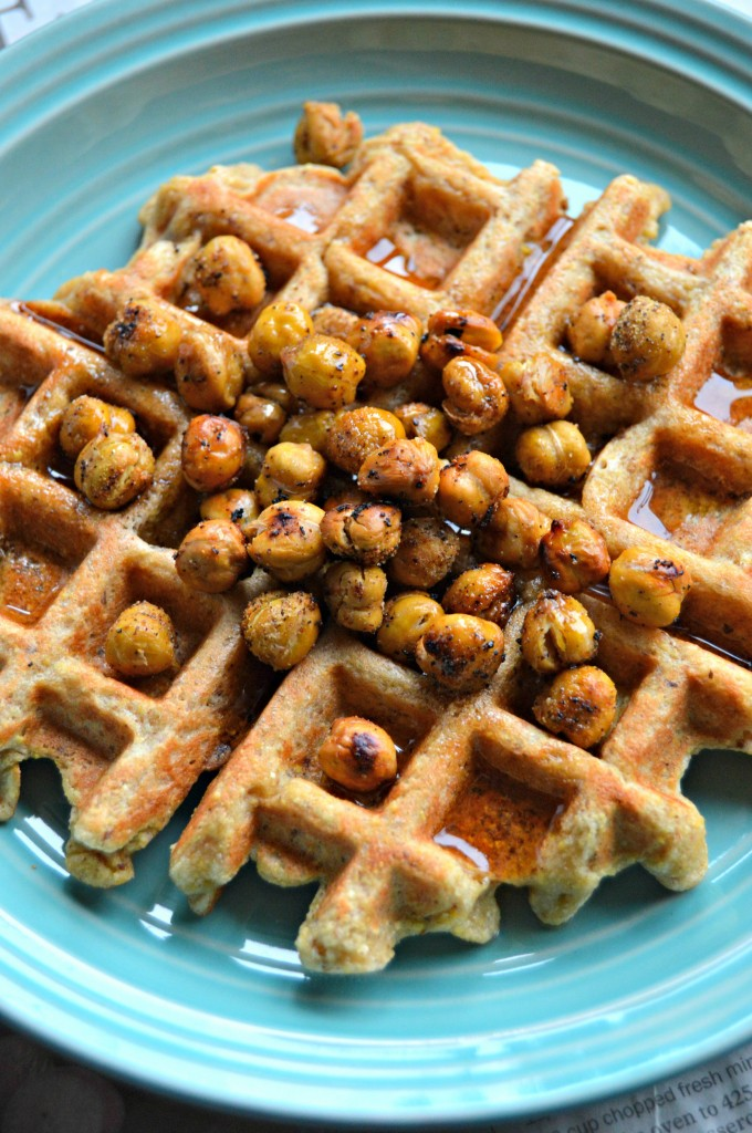 chickpea waffles 9