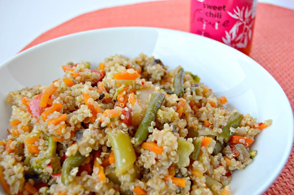mollys quinoa bowl