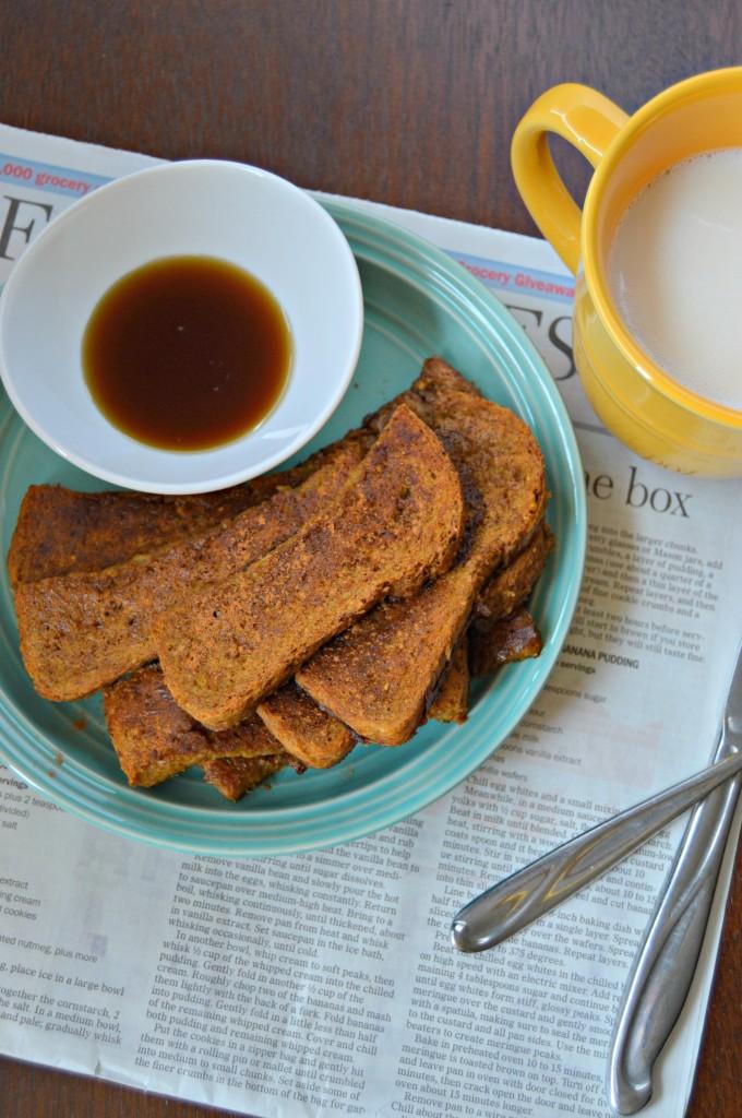 pumpkin french toast sticks 10