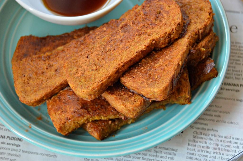 pumpkin french toast sticks 2