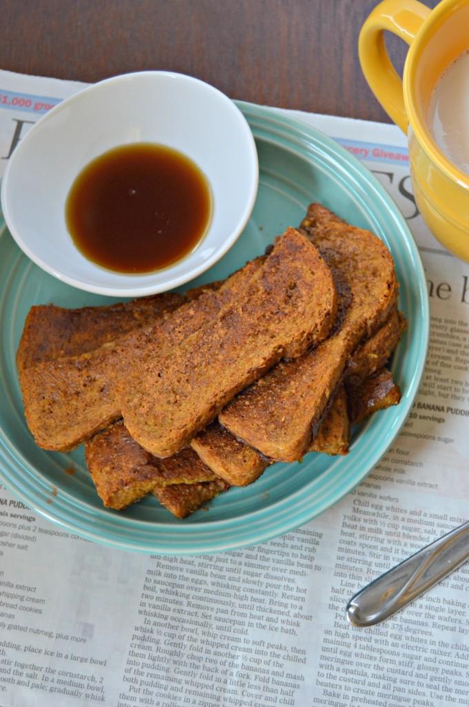 pumpkin french toast sticks 4
