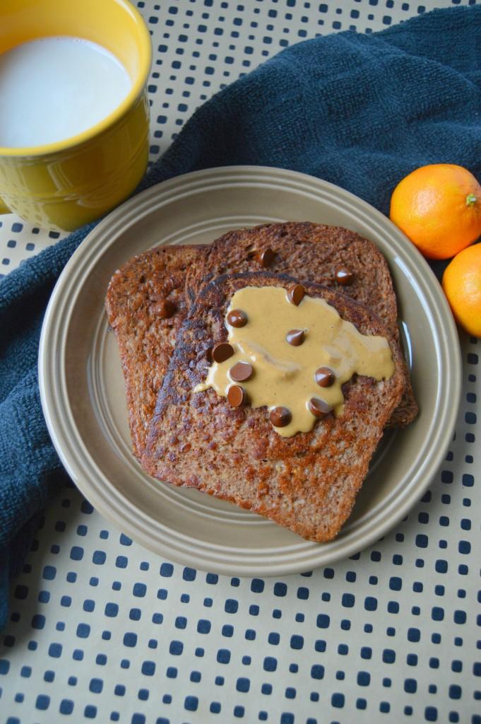 PB chocolate french toast 2