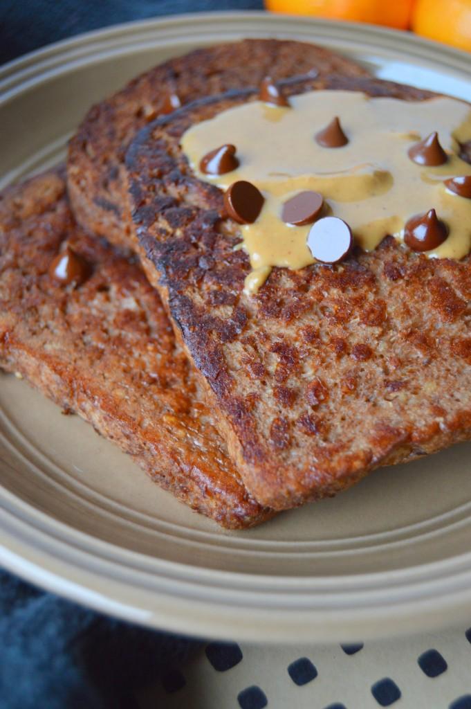 PB chocolate french toast 5
