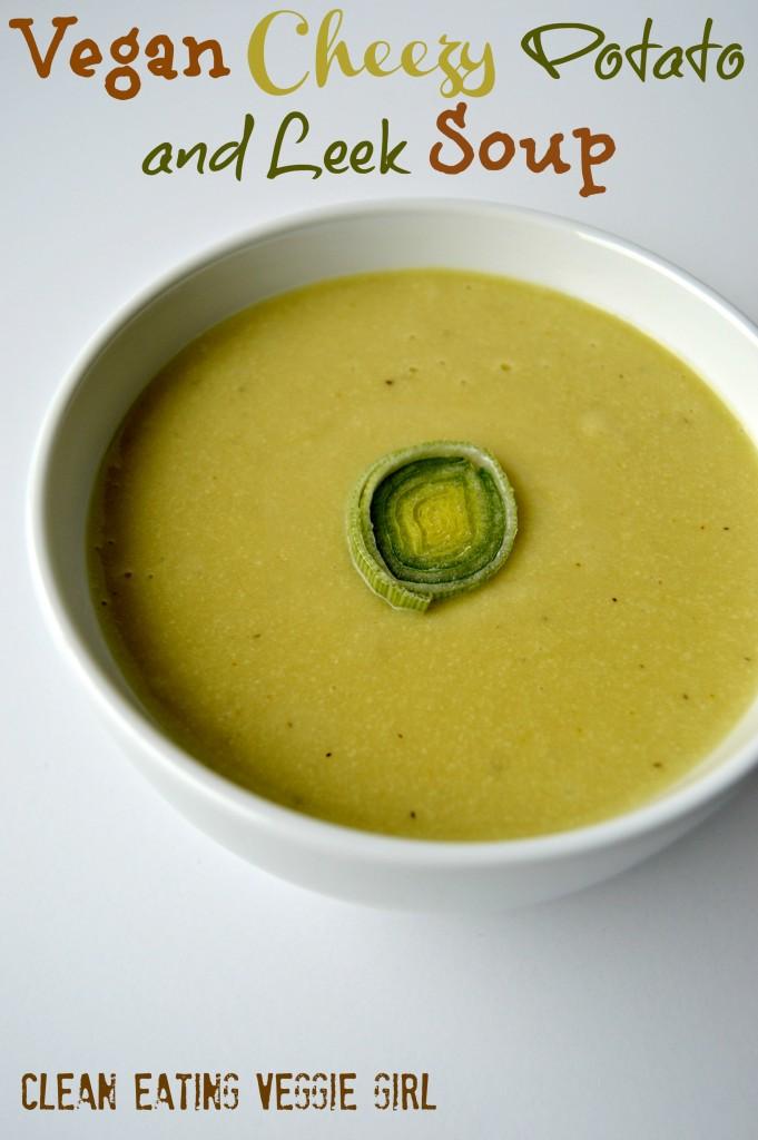 cheesy cashew leek potato soup 3