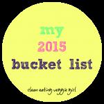 2015 bucket list graphic