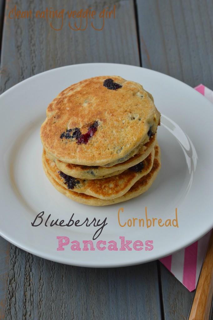 Blueberry Cornbread Pancakes 2