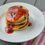Blueberry Cornbread Pancakes 5