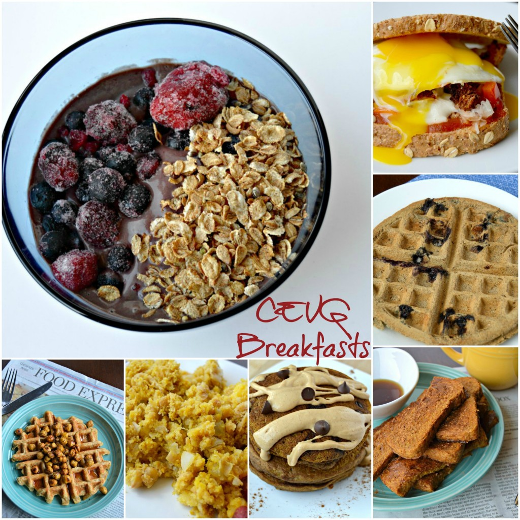 CEVG Breakfasts Collage 2014