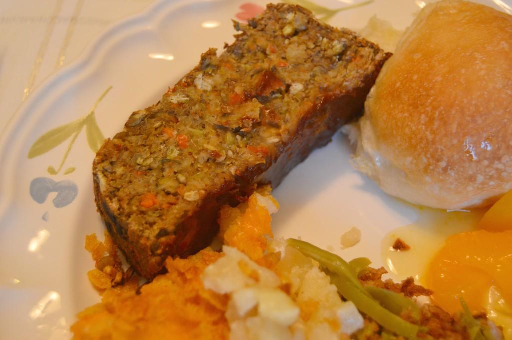 FFF lentil loaf