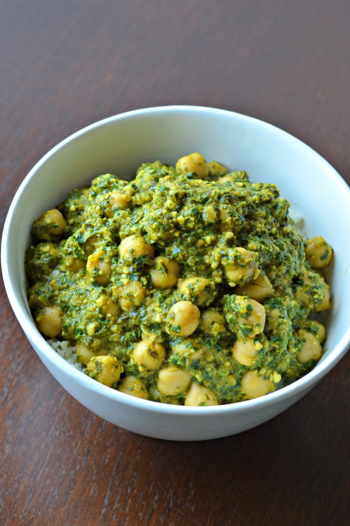 FFF kale chickpea curry