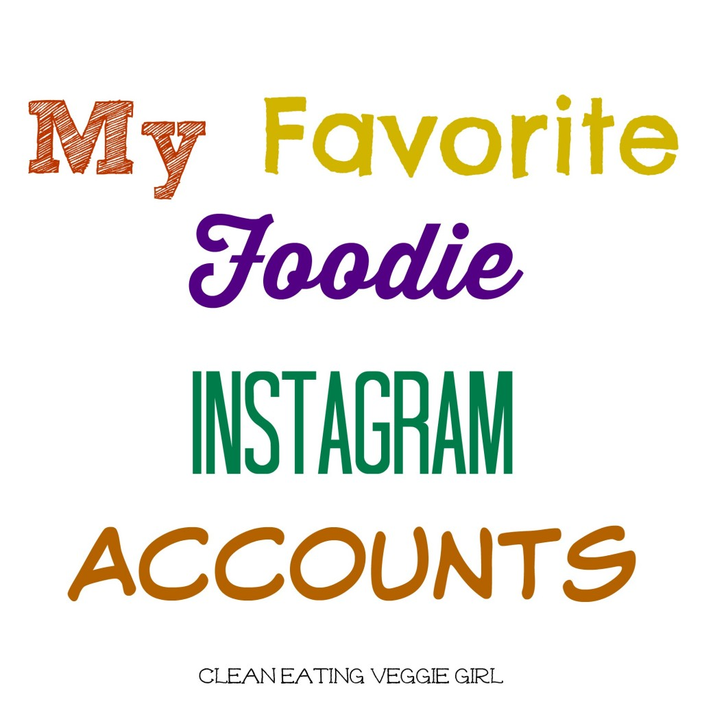 My Favorite Instagram Accounts Graphic