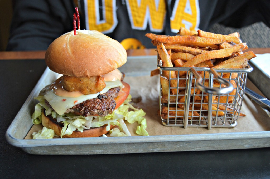 Tap House Cheese Curd Burgers