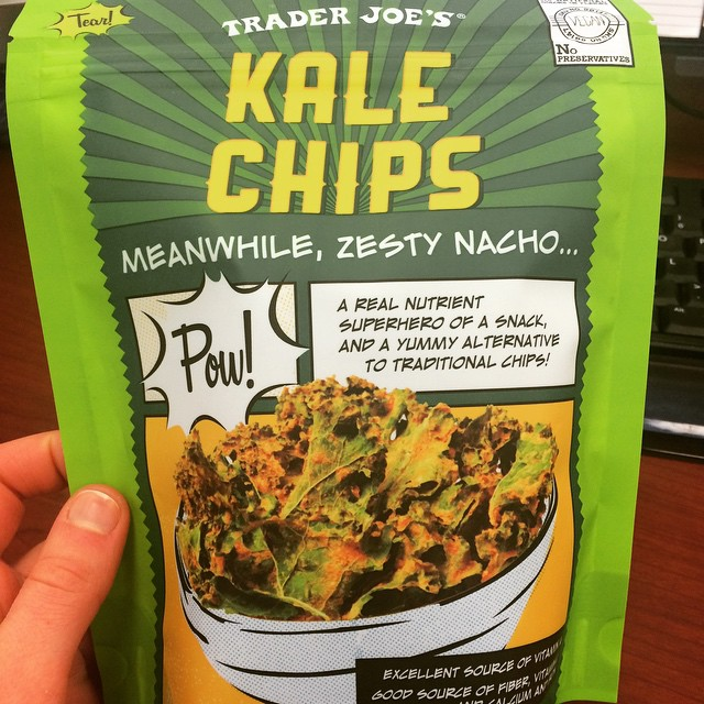 instagram kale chips