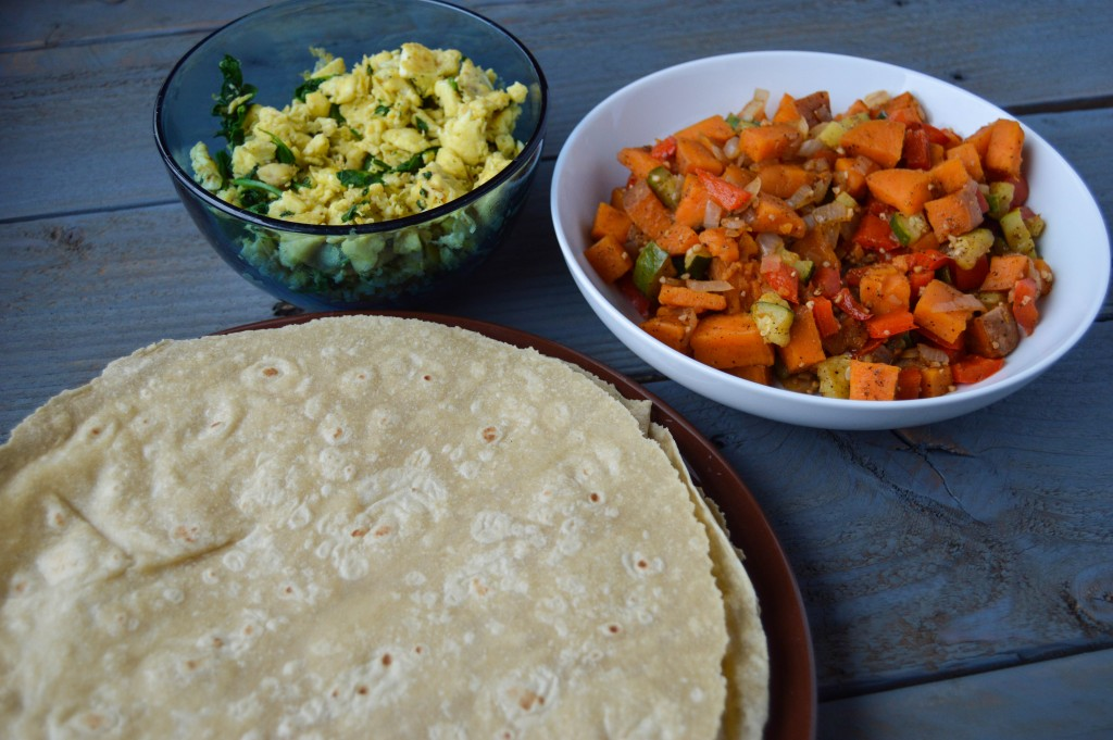 3C1K Burrito Ingredients
